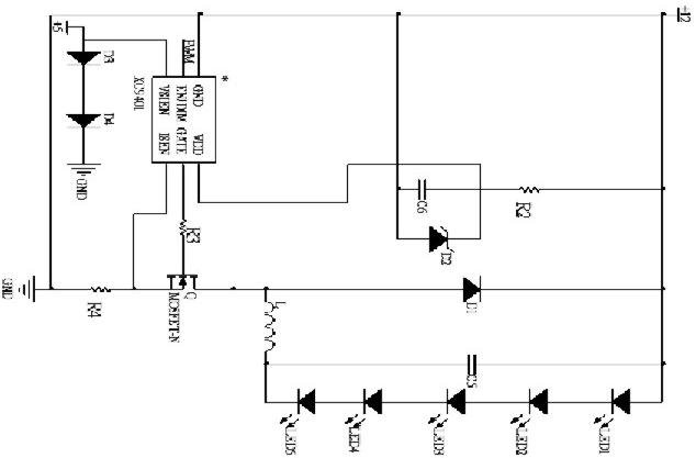 led 驱动电路图